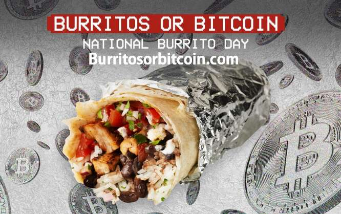 Chipotle Bitcoin Giveaway at burritosorbitcoin.com