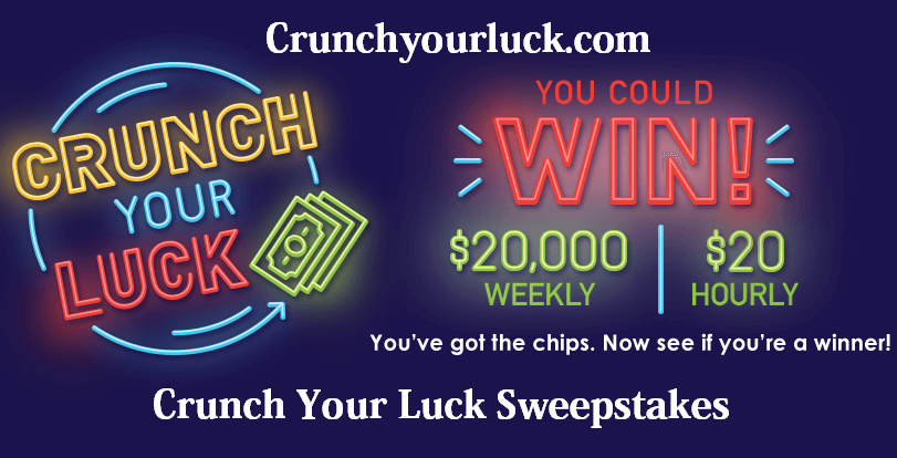 Crunch Your Luck Sweepstakes 2021