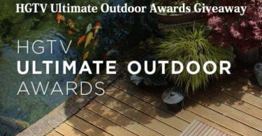 HGTV Ultimate Outdoor Awards Giveaway