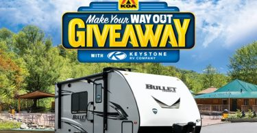 Keystone Make Your Way Out Giveaway 2021
