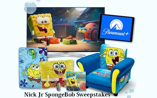 Nick Jr Ultimate SpongeBob Watch Party Sweepstakes