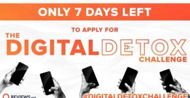 Reviews.org Digital Detox Contest 2021
