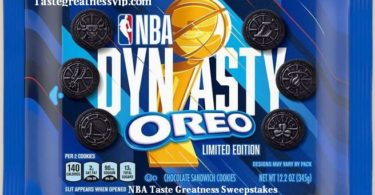 NBA Taste Greatness Sweepstakes 2021