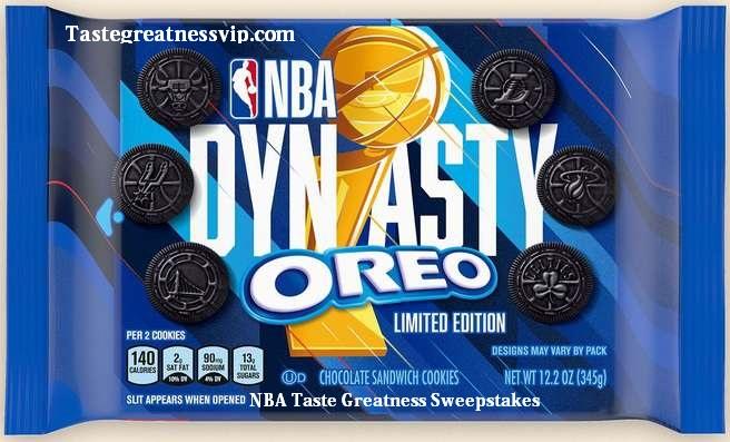 NBA Taste Greatness Sweepstakes 2021