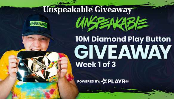 Unspeakable Giveaway 2021