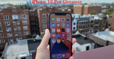 iPhone 12 Pro Giveaway 2021