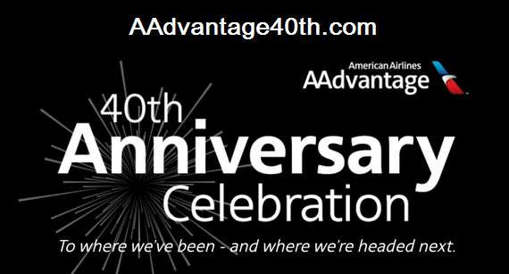 American Airlines 40th Anniversary Sweepstakes