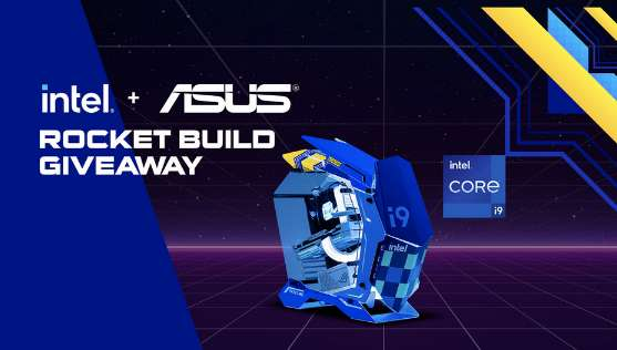 Newegg Intel + ASUS Rocket Build Giveaway