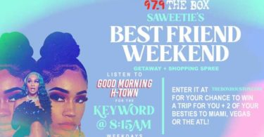 Theboxhouston SAWEETIE Best Friend National Sweepstakes