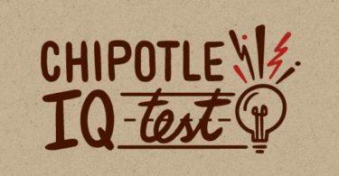 Chipotle IQ Contest