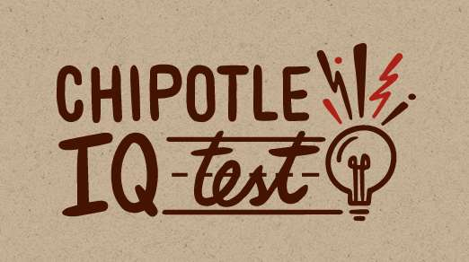 Chipotle IQ Contest