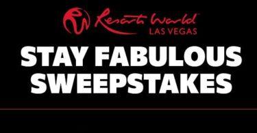 Resorts World Las Vegas Sweepstakes 2021