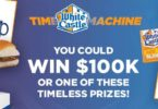 White Castle Time Machine Sweepstakes 2021