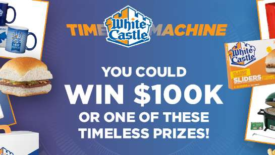 White Castle Time Machine Sweepstakes 2021