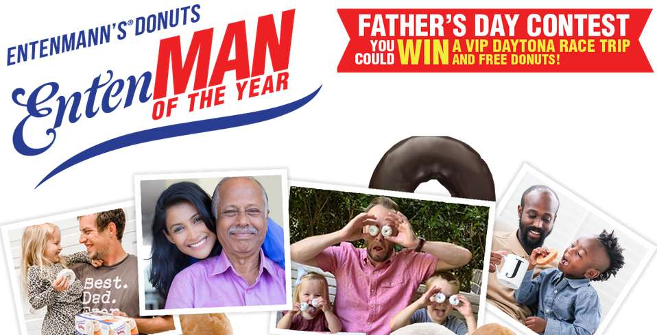 Entenmann's Donuts EntenMAN of the Year Father's Day Contest 2021