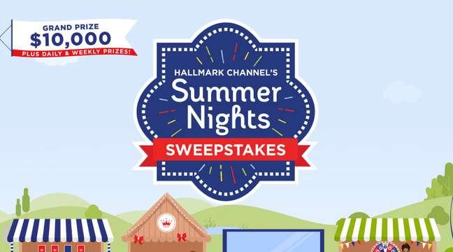 Hallmark Channel Summer Nights Sweepstakes 2021