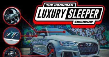 Hoonigan LUXURY SLEEPER Giveaway 2021