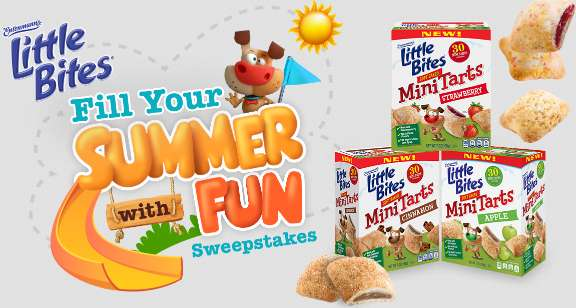 Little Bites Summer Fun Sweepstakes Contest 2021
