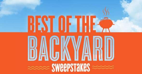 Best of the Backyard Sweepstakes 2021