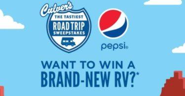 Culver's Tastiest Road Trip Sweepstakes 2021