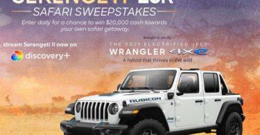 Discovery Serengeti $20K Sweepstakes