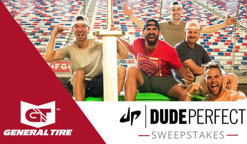 General Tire Dude Perfect Sweepstakes 2021