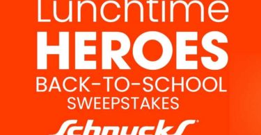Lunchtime Heroes Back to School Sweepstakes 2021