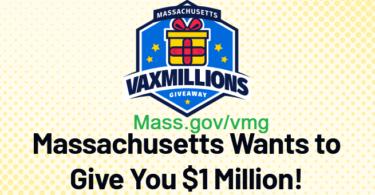 Mass VaxMillions Giveaway 2021 - Mass.gov/vmg