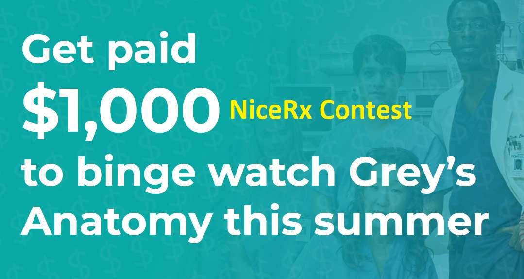 NiceRx Contest 2021 Grey's Anatomy