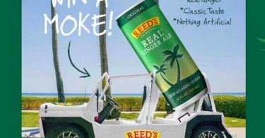 Reed's Real Ginger Ale Moke Giveaway 2021