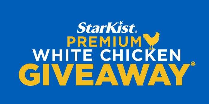 StarKist Premium White Chicken Giveaway 2021