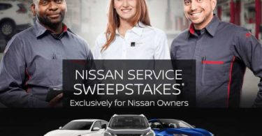 Nissan Service Sweepstakes 2021