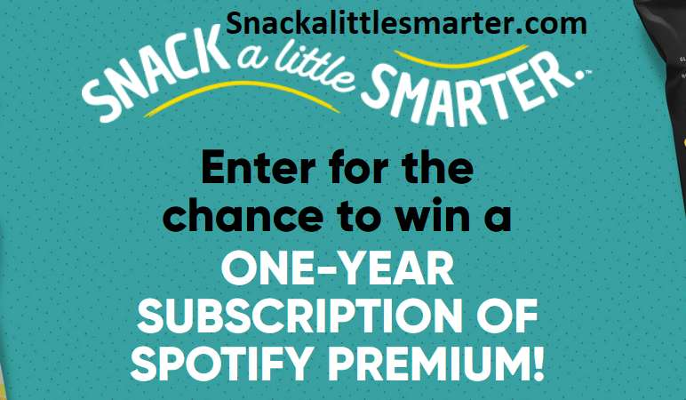 Snack A Little Smarter Instant Win Game 2021