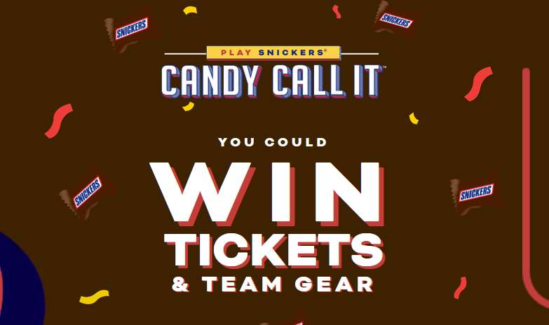 Candy Call it Promotion Sweepstakes 2021