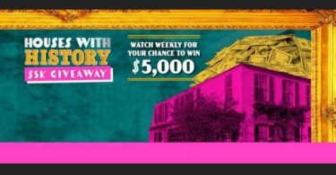 HGTV Houses with History Giveaway Code Word 2021