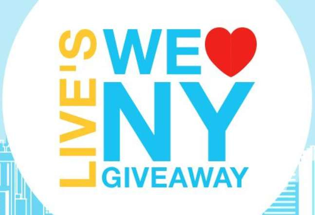 LIVE With Kelly And Ryan We Love New York Giveaway Sweepstakes