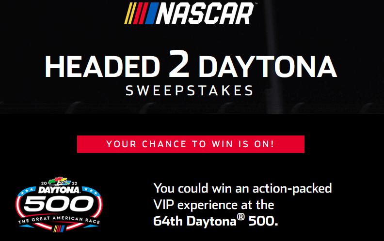 Nascar Daytona 500 Contest 2021