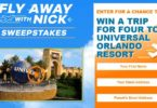 Fly Away with Nick Sweepstakes 2021