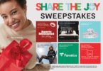 JCPenney Share The Joy Sweepstakes 2021