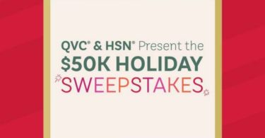 QVC $50K Holiday Sweepstakes 2021
