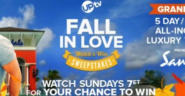 UPtv Fall in Love Watch and Win Sweepstakes 2021